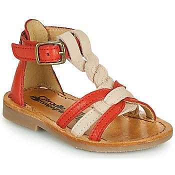 Pantofi Fete Sandale  Citrouille et Compagnie GITANOLO Corai / Roz