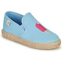Pantofi Fete Balerin și Balerini cu curea Citrouille et Compagnie OCELESTE Albastru / Albastru-cerului