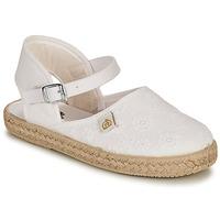 Pantofi Fete Balerin și Balerini cu curea Citrouille et Compagnie ORINO Alb