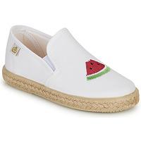 Pantofi Fete Balerin și Balerini cu curea Citrouille et Compagnie OFADA Alb
