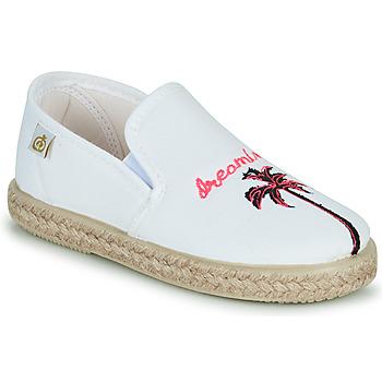 Pantofi Fete Balerin și Balerini cu curea Citrouille et Compagnie OWAT Alb