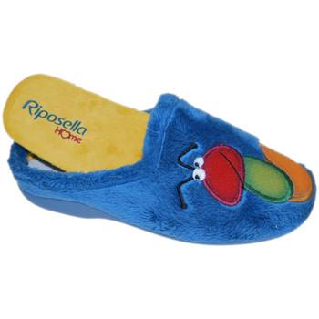 Pantofi Femei Papuci de casă Riposella RIP4593avio blu