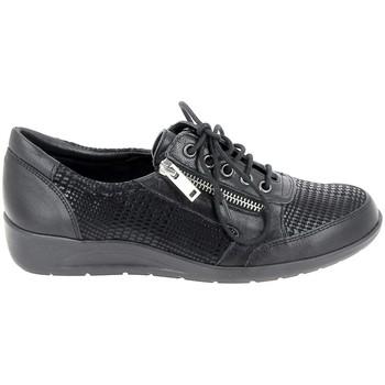 Pantofi Femei Mocasini Boissy Stephiel Noir Negru