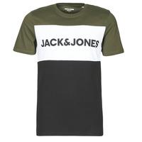 Îmbracaminte Bărbați Tricouri mânecă scurtă Jack & Jones JJELOGO Kaki