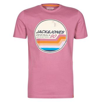 Îmbracaminte Bărbați Tricouri mânecă scurtă Jack & Jones JORTYLER Roz