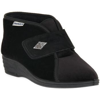 Pantofi Femei Papuci de casă Emanuela 536 NERO PANTOFOLA Nero