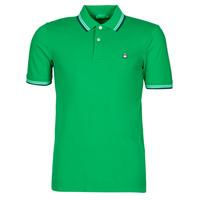 Îmbracaminte Bărbați Tricou Polo mânecă scurtă Benetton 3WG9J3181-108 Verde