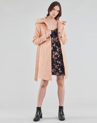 Îmbracaminte Femei Paltoane Vero Moda VMCALALYON HOOD 3/4 JACKET GA Roz