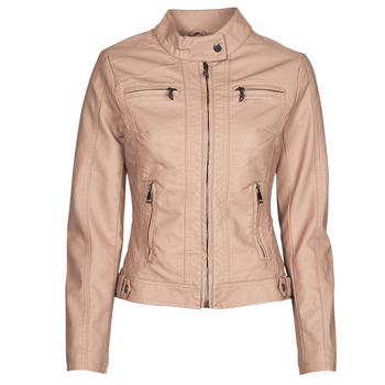 Îmbracaminte Femei Jachete din piele și material sintetic Moony Mood ORNELLA Roz
