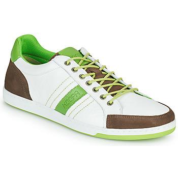 Pantofi Bărbați Pantofi sport Casual Kdopa MARIANO Alb / Verde
