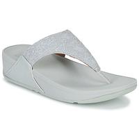 Pantofi Femei  Flip-Flops FitFlop LULU SHIMMER TOE POST Alb