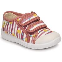 Pantofi Fete Pantofi sport Casual Citrouille et Compagnie GLASSIA Roz / Imprimeuri