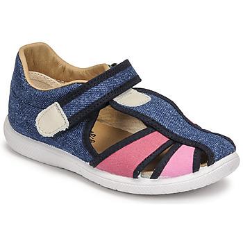 Pantofi Fete Sandale  Citrouille et Compagnie GUNCAL Albastru /  jeans