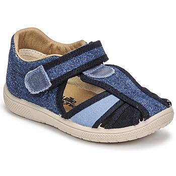 Pantofi Băieți Sandale  Citrouille et Compagnie GUNCAL Albastru /  jeans