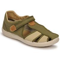 Pantofi Băieți Sandale  Citrouille et Compagnie GUNCAL Kaki
