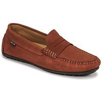 Pantofi Bărbați Mocasini Pellet Cador Roșu