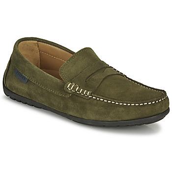 Pantofi Bărbați Mocasini Pellet Cador Kaki