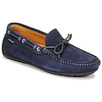 Pantofi Bărbați Mocasini Pellet Nere Albastru