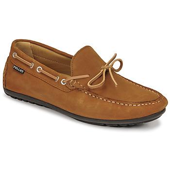 Pantofi Bărbați Mocasini Pellet Nere Maro
