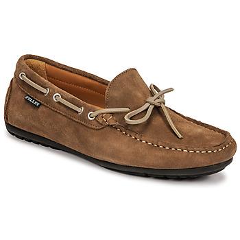 Pantofi Bărbați Mocasini Pellet Nere Taupe