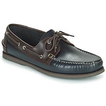 Pantofi Bărbați Pantofi barcă Pellet Vendée Albastru / Maro