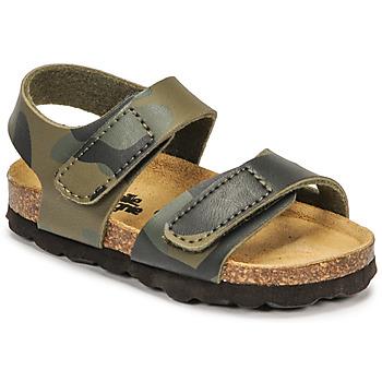 Pantofi Băieți Sandale  Citrouille et Compagnie BELLI JOE Camuflaj