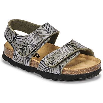 Pantofi Copii Sandale  Citrouille et Compagnie BELLI JOE Imprimeuri / Feuille
