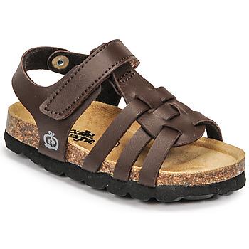 Pantofi Băieți Sandale  Citrouille et Compagnie JANISOL Maro / Culoare închisă