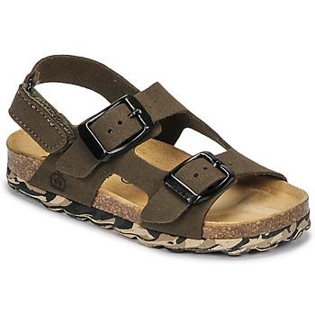 Pantofi Băieți Sandale  Citrouille et Compagnie KELATU Kaki