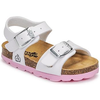 Pantofi Fete Sandale  Citrouille et Compagnie RELUNE Alb