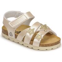 Pantofi Fete Sandale  Citrouille et Compagnie OKILIA Auriu