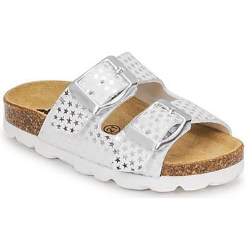Pantofi Fete Papuci de vară Citrouille et Compagnie MISTINGUETTE Alb / Stea