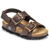 Pantofi Băieți Sandale  Citrouille et Compagnie KELATU Brun