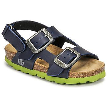 Pantofi Băieți Sandale  Citrouille et Compagnie KELATU Albastru