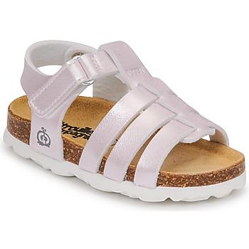 Pantofi Fete Sandale  Citrouille et Compagnie MALIA Șampanie