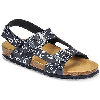 Pantofi Băieți Sandale  Citrouille et Compagnie KELATU Albastru / Imprimeuri