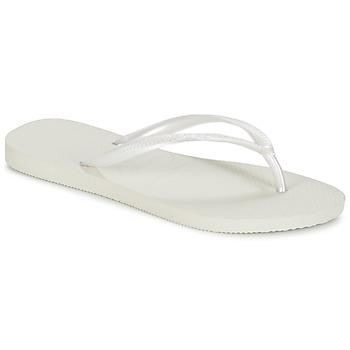 Pantofi Femei  Flip-Flops Havaianas SLIM Alb