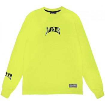 Îmbracaminte Bărbați Tricouri cu mânecă lungă  Jacker Corpo verde