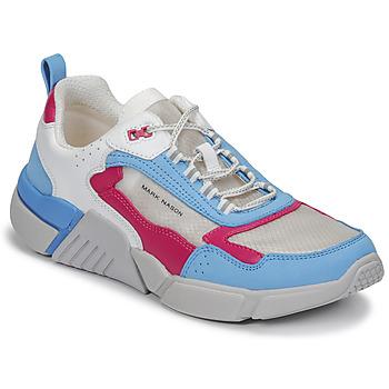 Pantofi Femei Pantofi sport Casual Skechers BLOCK/WEST Alb / Albastru / Roz