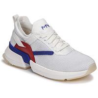 Pantofi Femei Pantofi sport Casual Skechers SPLIT/OVERPASS Alb / Albastru / Roșu
