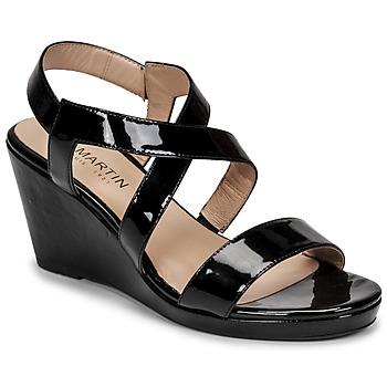 Pantofi Femei Sandale  JB Martin QUETZA Negru