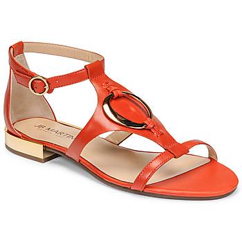 Pantofi Femei Sandale  JB Martin BOCCIA Papaye