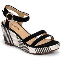 Pantofi Femei Sandale  JB Martin DORKA Negru