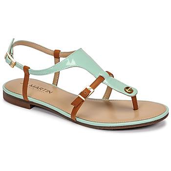 Pantofi Femei Sandale  JB Martin GAELIA Azur