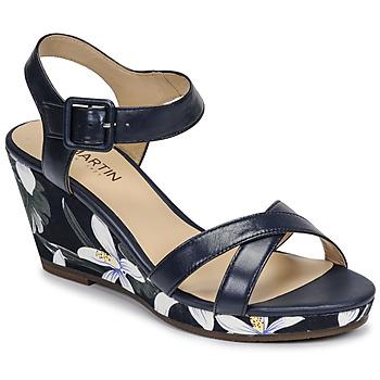 Pantofi Femei Sandale  JB Martin QUERIDA Albastru