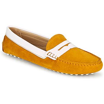 Pantofi Femei Mocasini JB Martin TABATA Galben soare