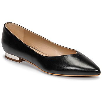 Pantofi Femei Balerin și Balerini cu curea JB Martin VERONICA Negru