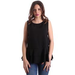 Îmbracaminte Femei Topuri și Bluze Gaudi 911FD45048 Negru