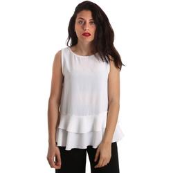 Îmbracaminte Femei Topuri și Bluze Gaudi 911FD45048 Alb