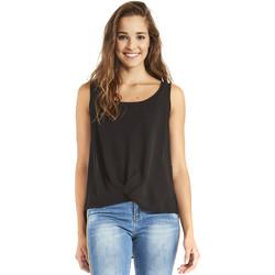 Îmbracaminte Femei Topuri și Bluze Gaudi 911BD45001 Negru
